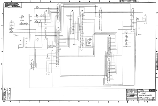 pdp1144_h7140_motherboard_schematics