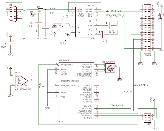 rs232 schematic