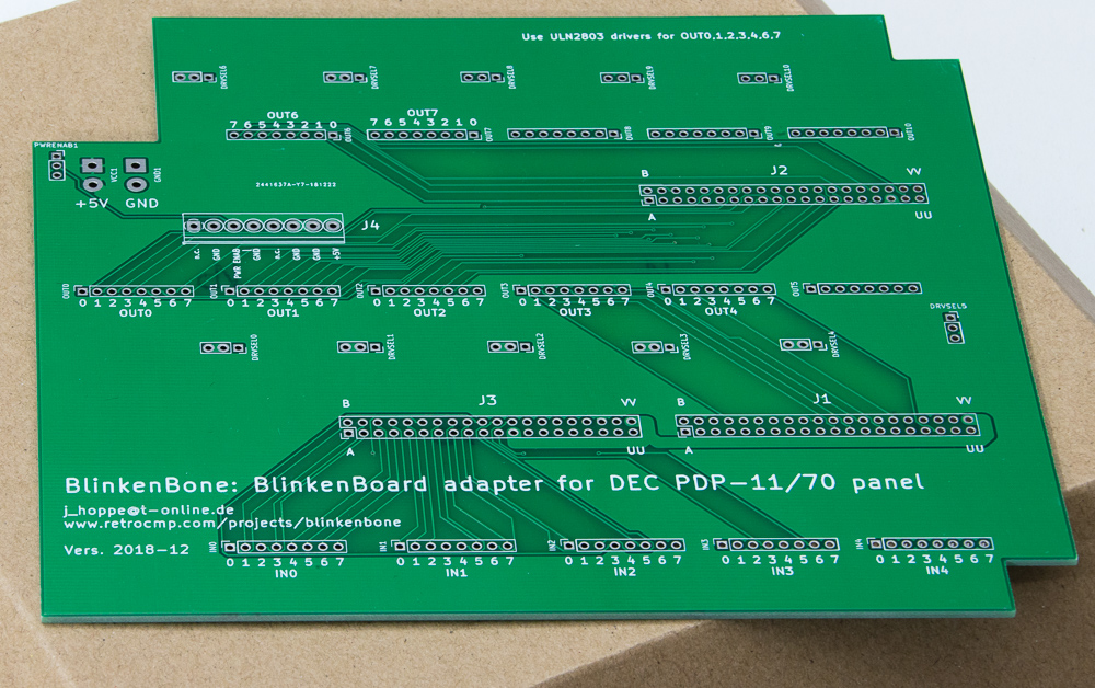 blinkenbone pdp1170 adapter 5